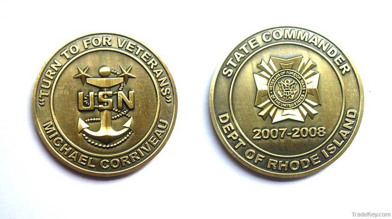 custom metal indian old coins