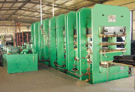 plate vulcanizing press (machine)