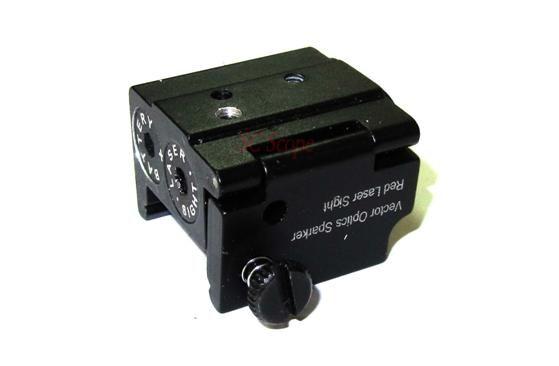 Vector Optics Sparker Pistol Micro Red Laser Sight Pointer