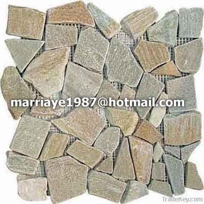 Culture stone/Wall cladding stone/Slate mosaic