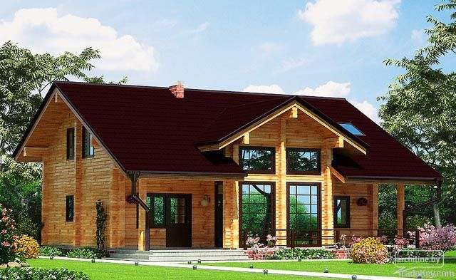 Wooden house 132 m2