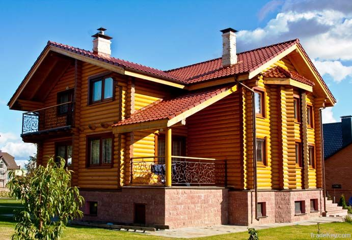 Wooden house 194 m2