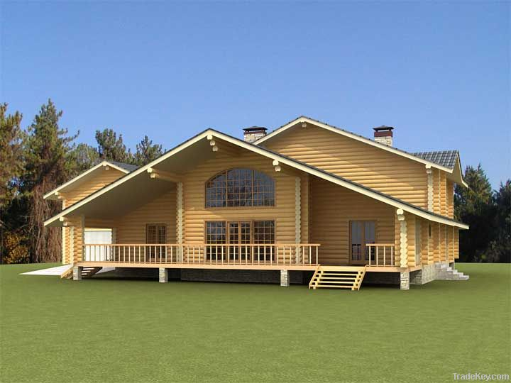 Wooden house 327 m2