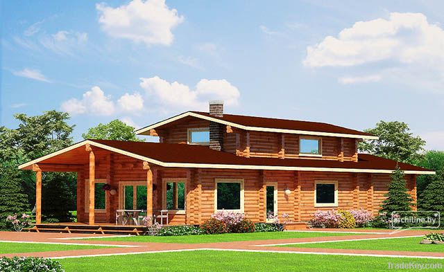 Wooden house 174 m2