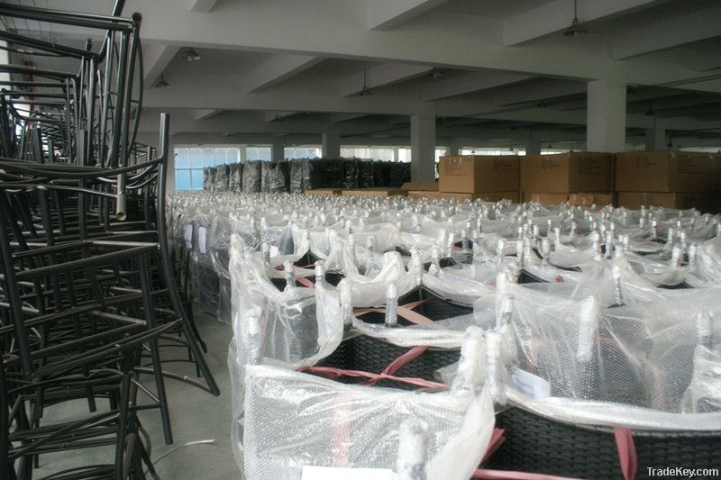 2012 wicker furniture rattan XXL single seater sofa chair WJK-SF-05