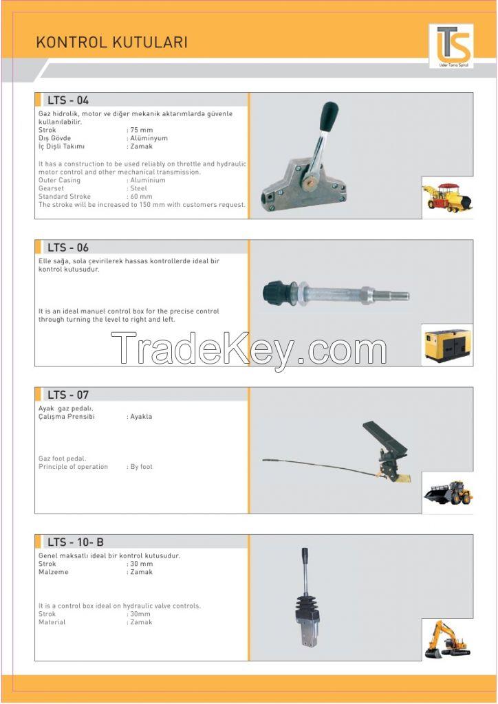 Transmixer throttle and hydraulic control box  LTS-01-A