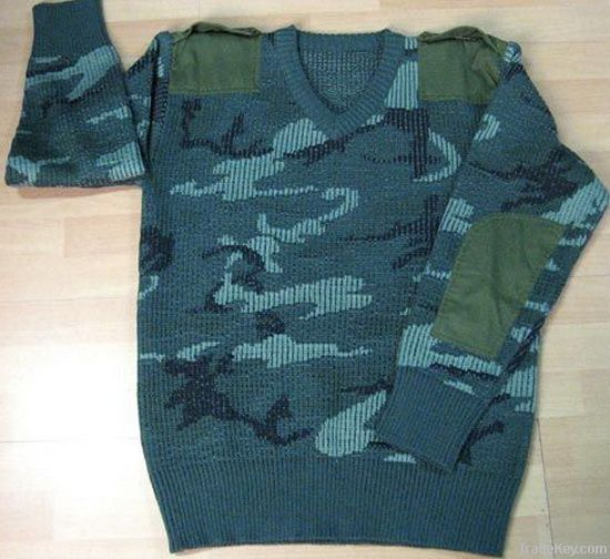 Military Pullover Military Sweater Military Jersey Camouflage Pullover