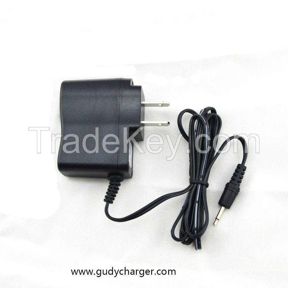 3.6V-4.8V 600mA Charger for 3-4 cells 1200-4800mAh NiMh NiCd Battery packs