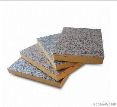 Phenolic Foam Board with Granite Rock Chip Surface