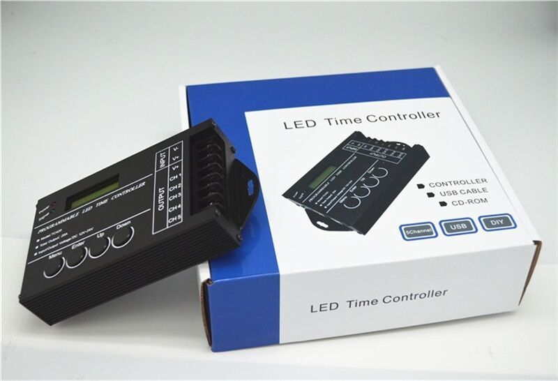 Programmable Time Led Controller programmable light dimmer controller for Aquarium