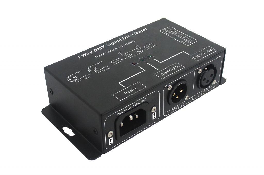 1CH/4CH/8CH DMX signal distributor DMX signal splitter