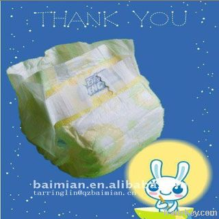 Hot sell disposable baby diaper