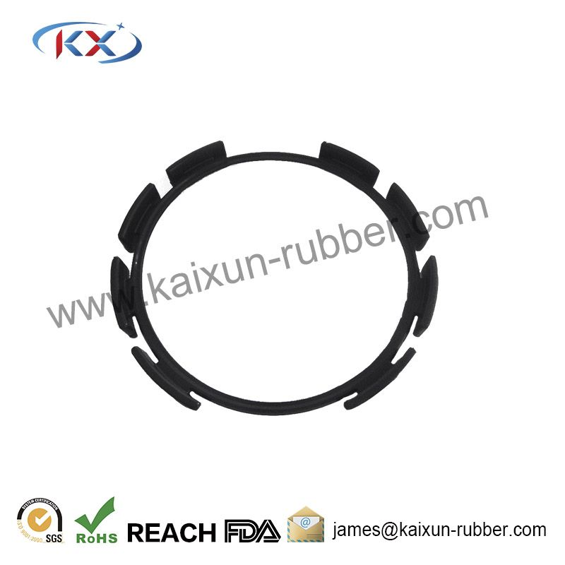 Molded rubber gasket rubber product