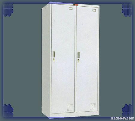 two doors steel wardrobe