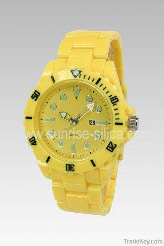 Plastic Strap Watches