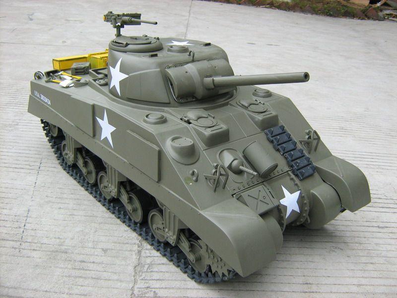1/6 M4A3 Sherman Tanks