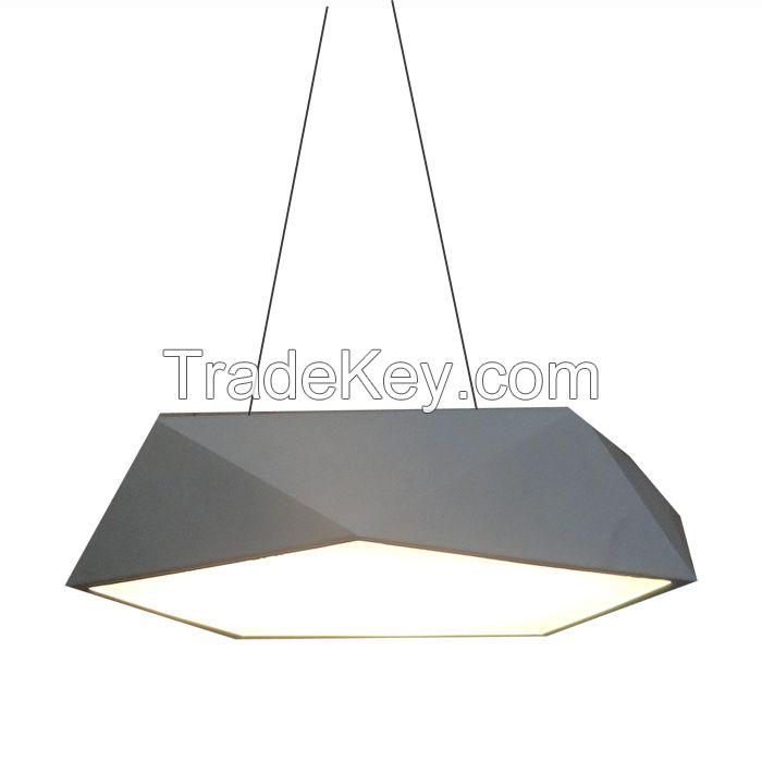 New Style Sensing Energy Saving 40W 3000K Pendant Carving LED Ceiling Light Fixtures