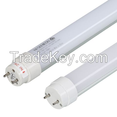 T8 22W Flicker-Free Led Tube Lighting With 120 Degree / 90Ra For Office