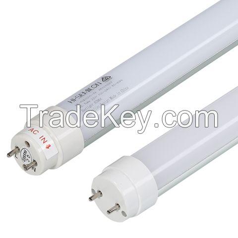 18w T8 LED Tube Lighting with CCT of 3000 / 5700k, 1.2m, white