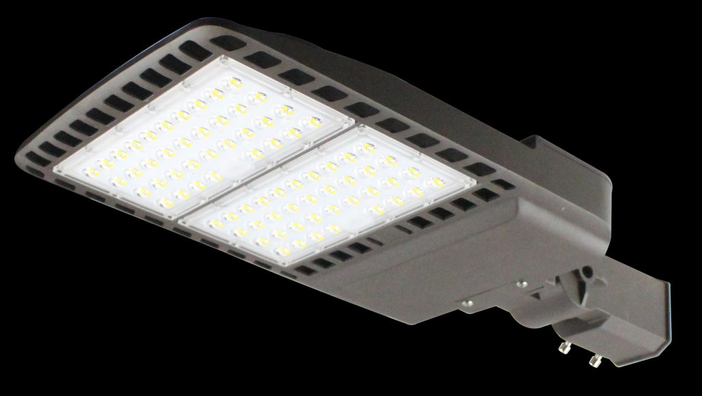 led shoe box ligh park lots light 100W 150W 200W 250W 300W 130lm/W