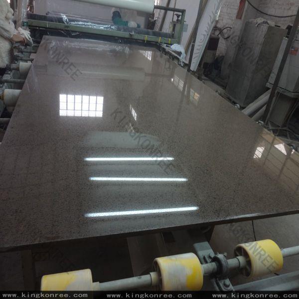 Construction Material Artificial Quartz Stone For Table Top / Vanity Top