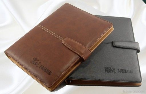 PU-quality Italian imported loose-leaf notebook