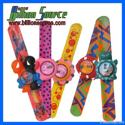 Silicone Kids Slap Watch