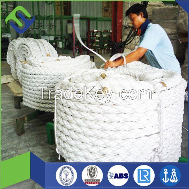 8 strand polypropylene rope for mooring ship