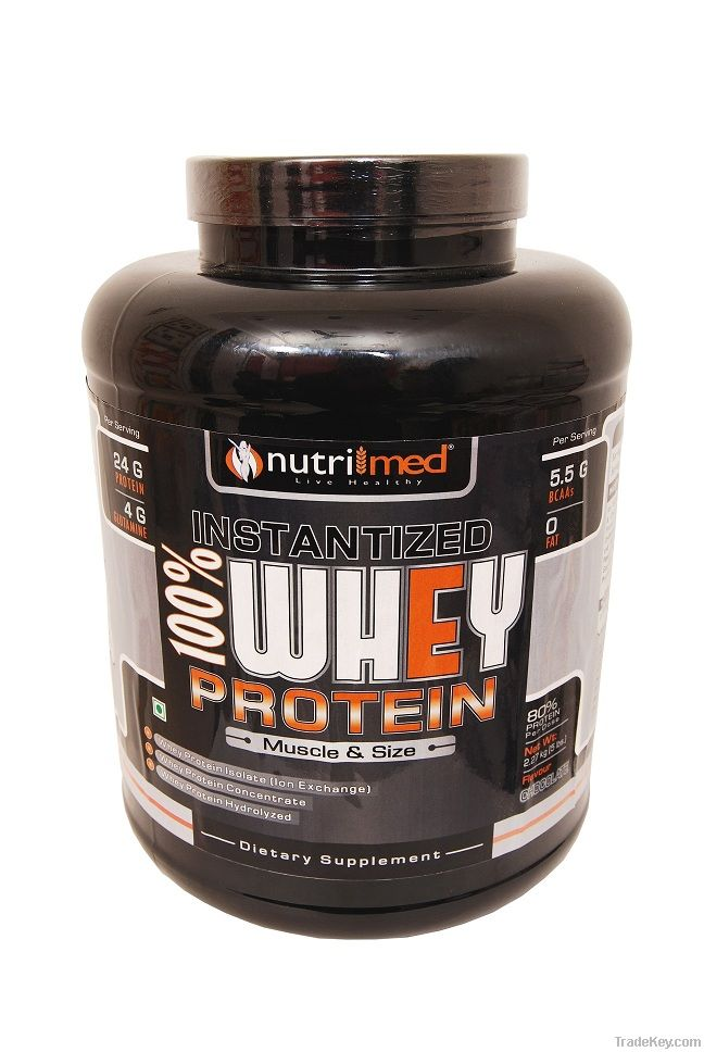 Nutrimed Instantized 100% Whey Protein