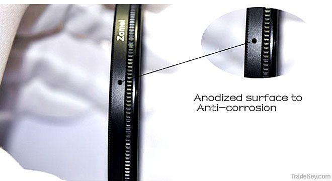 uv camera filters 62mm High Glossy Ultra-Violet UV Lens Filter Pr