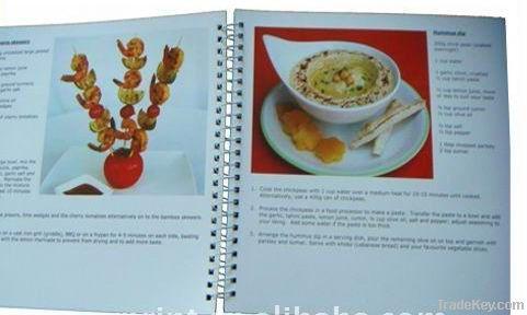 popular hardcover /paperback cook book printing