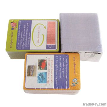 Printing cards, customize play cards/ printed cardboard supplier