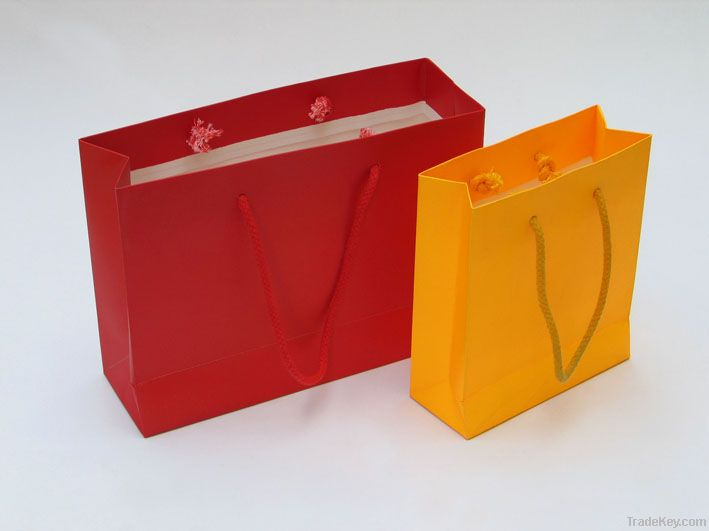 Colorful shopping bag manufacture