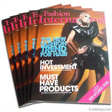 2013 customize magazine printing, paper printing