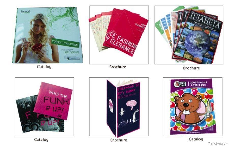 Promotional brochure printing, booklet printer, customize printing