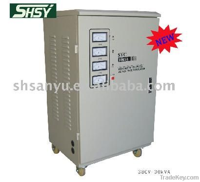 SBW DBW 50KVA ac automatic full compensation voltage regulator
