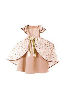 Satin Dress With Poplin Print