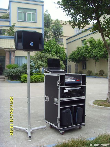 Moving PA system