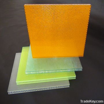optical honeycomb panel