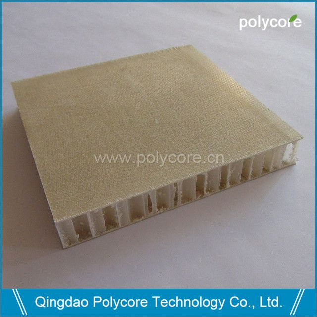 light weight high strength waterproof fiberglass honeycomb sandwich panel