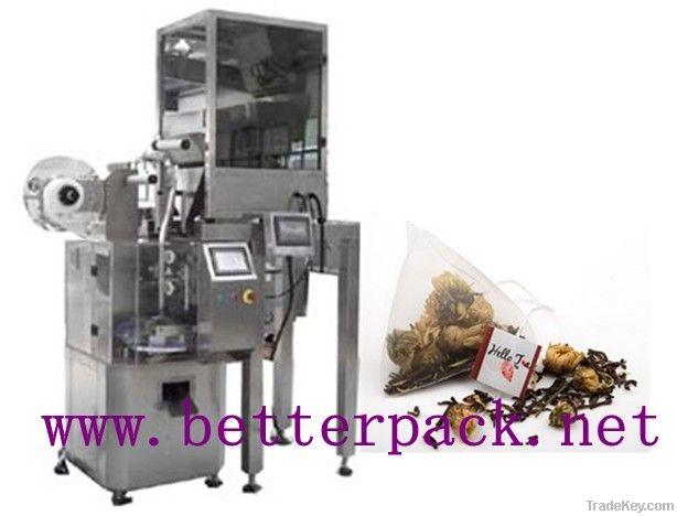 Automatic nylon triangle pyramid  tea bags packing machinery