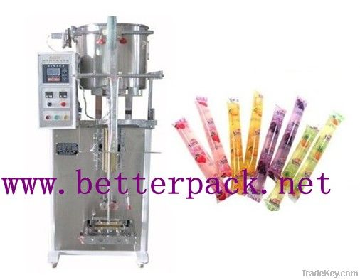 Automatic jelly stick ice pop liquid filling and  packaging machinery