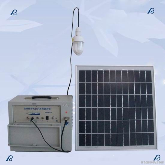 Solar Module off-Grid Photovoltaic Power System