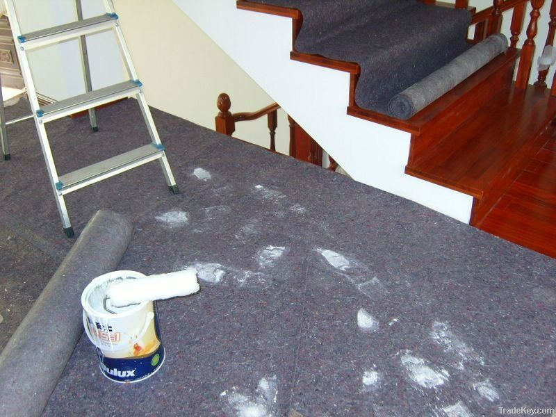 PE Coated non woven fabric/painter drop cloth/painter felt