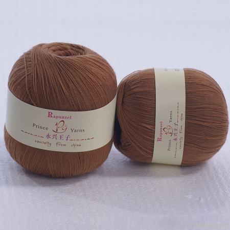 Lamb wool yarn