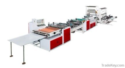 CQRZ-800 Zipper Sealing Bag Making Machine