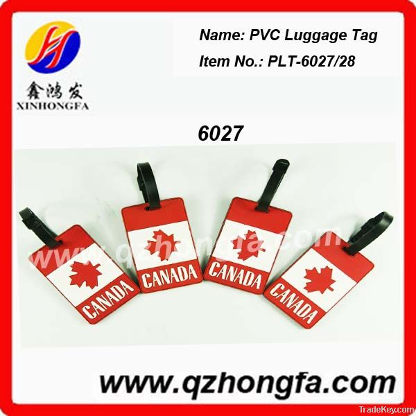 Soft PVC Luggage Tag