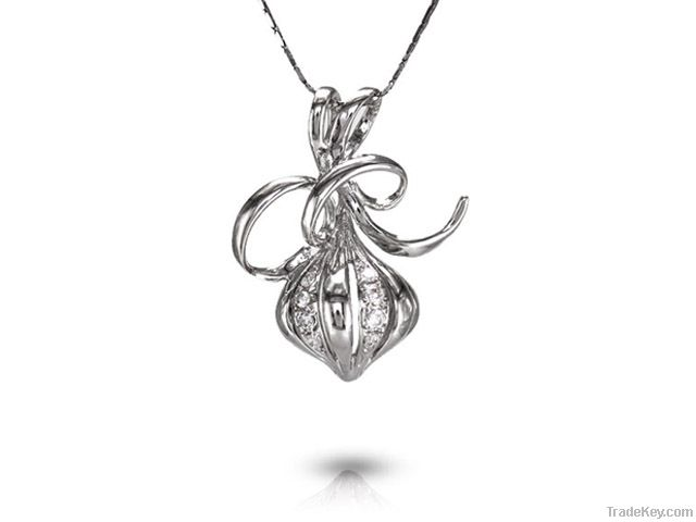 Crafted Silver Pendant