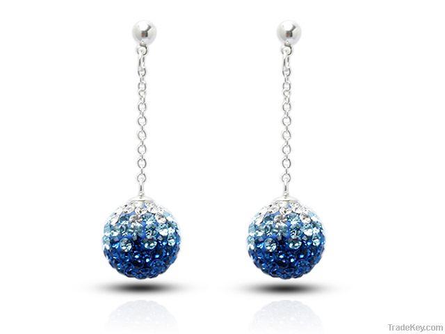 Crystal Drop Shaped Earring