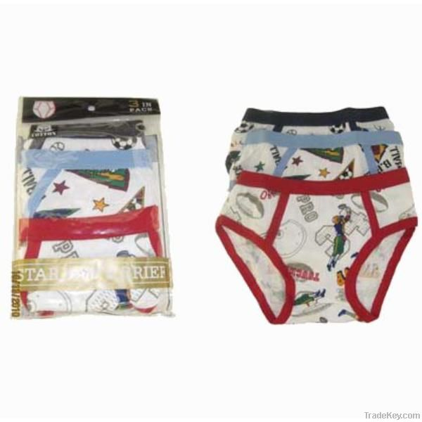 Boy's Cotton Brief